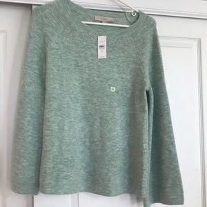 Loft slight bell sleeve sweater